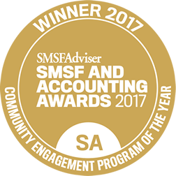smsfAdviser 2017 bookkeeping award winner