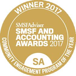 smsfAdviser 2017 bookkeeping award winner