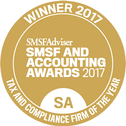 smsfAdviser 2017 tax award winner